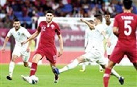 تشویق تیم ملی فوتبال عربستان توسط هواداران قطری