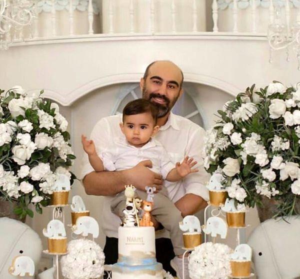 محسن تنابنده| عکس های جنجالی از جشن تولد لاکچری پسرش  + تصاویر