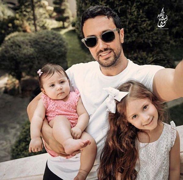 شاهرخ استخری از برادر زن خواننده اش رونمایی کرد + عکس