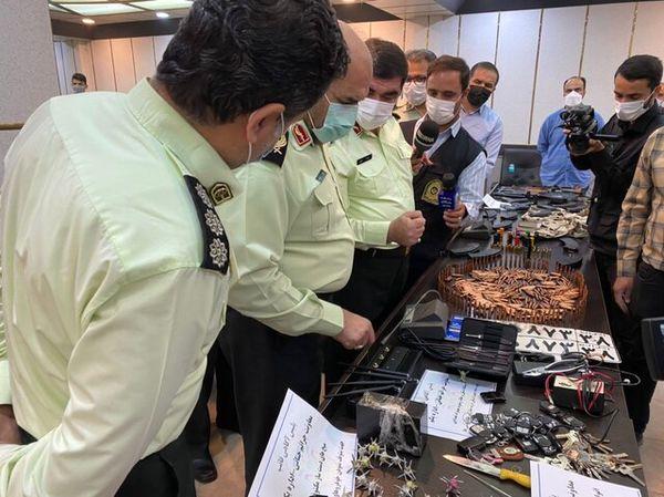 انهدام باند سارقانی با سلاحهای جنگی در پایتخت + جزئیات