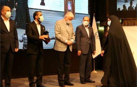 تندیس سیمین جایزه ملی مدیریت مالی ایران به شرکت فولاد خوزستان رسید
