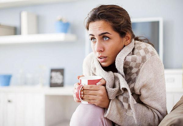 حساسیت به سرما نشانه ی چیست؟