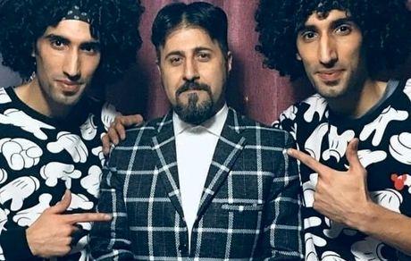 رحمت خان پایتخت و برادران دوقلویش + عکس