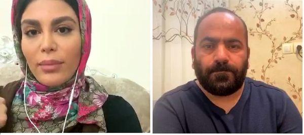 لایو جنجالی و عجیب حسن آقامیری با احلام + فیلم