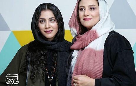 شبنم مقدمی و خانم بازیگر در یک مراسم + عکس