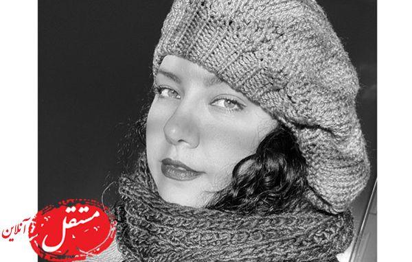پرتره سیاه سفید همسر شهاب حسینی + عکس