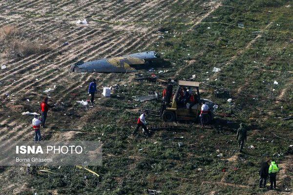 ۵٠ مسافر هواپیمای اوکراینی شناسایی شدند